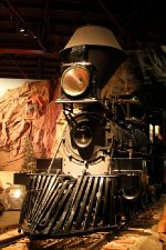 """Central Pacific 1862 Locomotive #1 the """"Governor Stanford"""""""