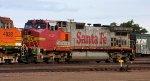 Signs of the Santa Fe
