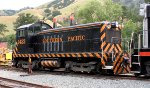 Southern Pacific #1423 sitting in the hills