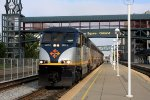 Capitol Corridor train at the station