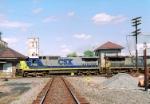CSX 7498 C40-8