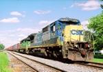 CSX 7624 C40-8