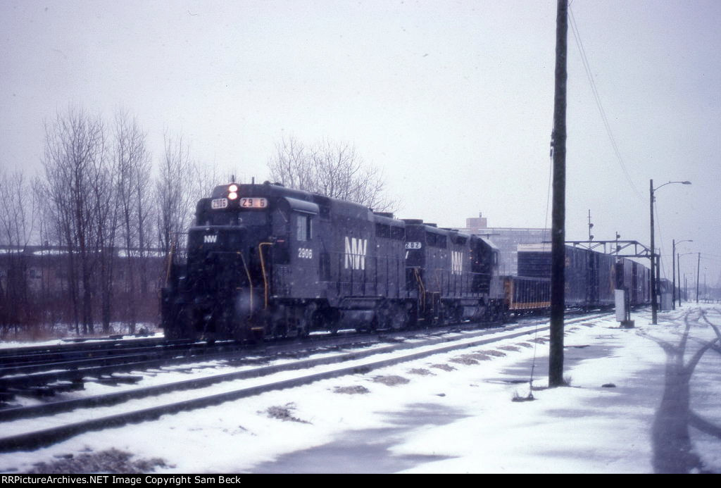 N&W 2906 and 202