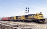 ATSF 6353, 6326, and 8521 on CJEL