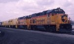 C&O 1510 and 1507 with 3 New AN GP15Ts