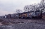CSX 6808 and 6255
