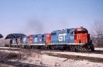 GTW 5804, 4555, 5822, and 4136