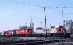 SOO 6612, CP 5518, and 5559