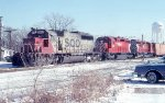 SOO 6617, CP 5548, and 5503 on #203