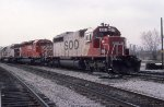 SOO 6621, CP 5400, and SOO 6622 on #501