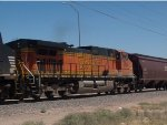 BNSF 5084 #3 power in an EB empty grain train at 2:21PM