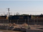 CSX 8731 #3 power in an EB doublestack into Alfalfa Yard at 08:23am