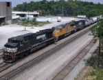 SB freight is clear to get into the yard