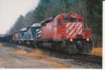 CP 5670 Bow Coal Train