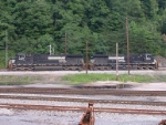 NS power at the Virginian yard