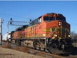BNSF 4055 EAST