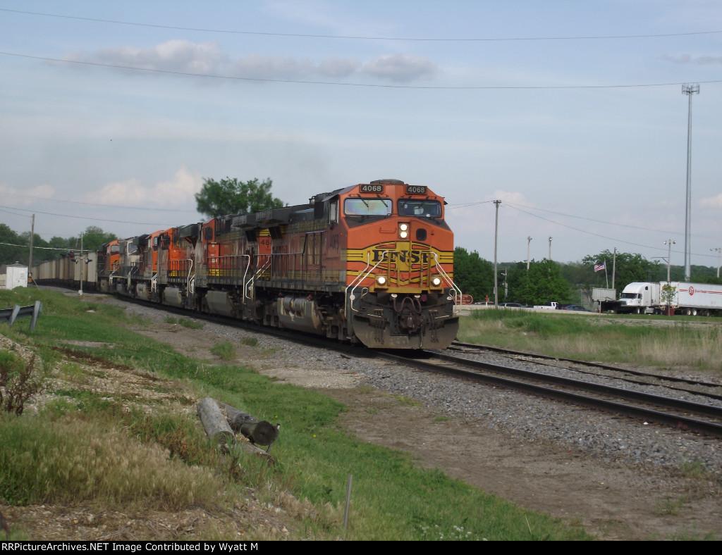 BNSF 4068
