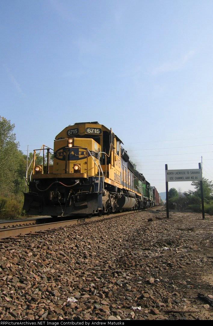 BNSF 6715