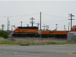 BNSF SD40-2 1888 & BNSF SLUG 270