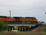 BNSF C44-9W 4074