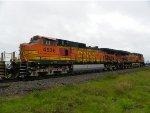 BNSF C44-9W 4536