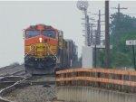 BNSF C44-9W 4807