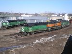 BNSF Fuel Racks Locomotive Lineup