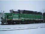 BNSF GP39E 2755