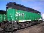 BNSF GP39V 2968