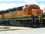 BNSF GP39-2 2715