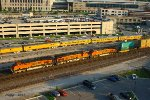 Eastbound BNSF Intermodal Train at Kansas City, MO