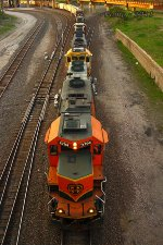Southbound BNSF Local Train