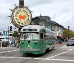PCC Car #1053 at Fisherman's Wharf