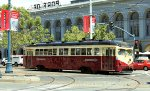 MUNI #1007 painted for Philadelphia Suburban Transportation Company