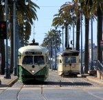 #1062 & #1056 on the dedicated street car lane
