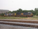 CSX 837 and 34