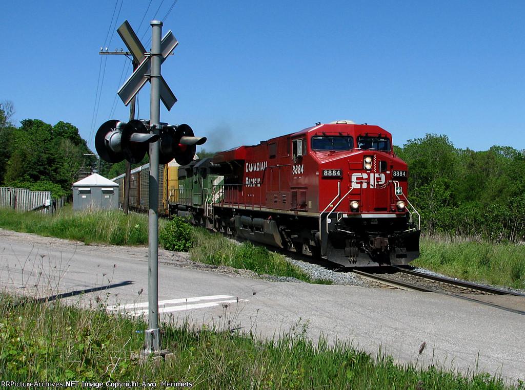 CP 243 at Mile 66 Galt Sub