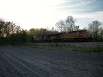 UP 6999 eastbound UP loaded coal train