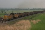UP 6628 eastbound UP loaded coal train
