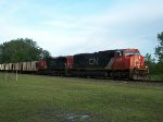 CN 5678 westbound UP empty coal train
