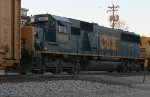 CSX 8501 on NB autorack