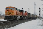BNSF empty coal train
