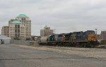 CSX SB freight on NS to Cinci