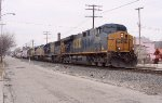 CSX NB on the Indianapolis sub