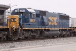 CSX 8609 on NB freight