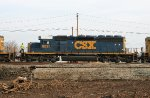 CSX 8037 on a NB freight