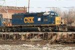 CSX 2414 on yard job