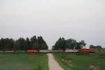 Westbound KCS Grain