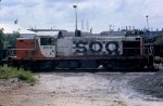 Soo RS-1 on scrap line