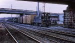 IHB SW1500 with SD40-2s in delivery. Best guess on road number for FGEX reefer.